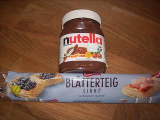 Rezept mit Nutella