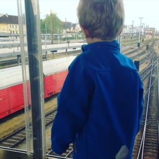 Zugfahren