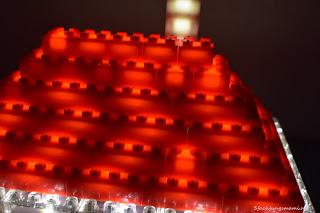 Lego leuchtet