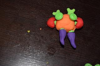 Monster aus Knete