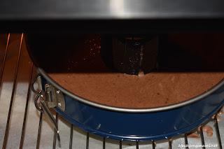 Kuchen im Ofen