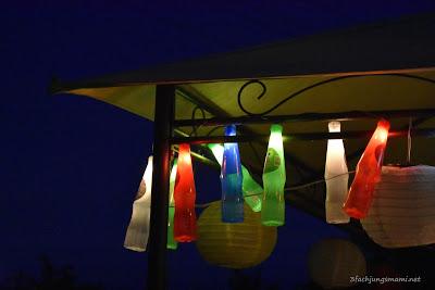 DIY Dreh und Trink Lichterkette