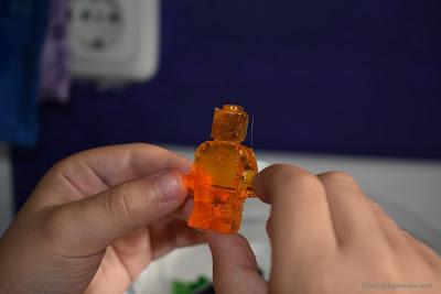 Händewaschen mit Legoseife