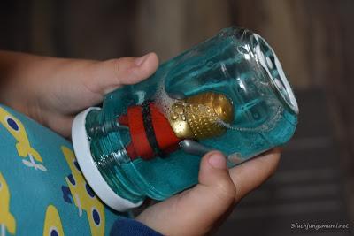 Playmobil Glitzerglas DIY