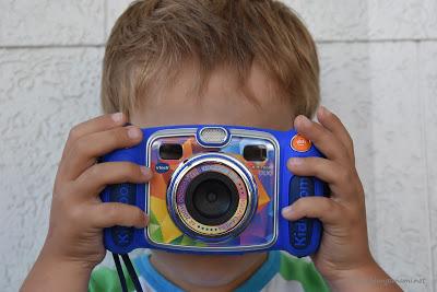 Fotospaß mit der Kinderkamera von Vtech