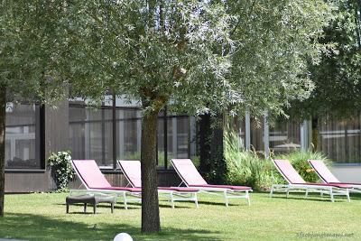 Garten im Hotel Sonnenpark