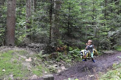 Spaß im Wald