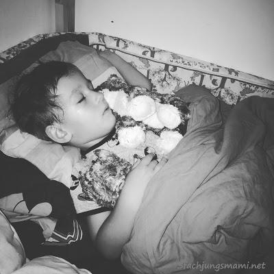 Kind schläft endlich ohne Schnuller