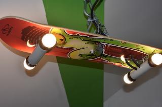 Skateboardlampe