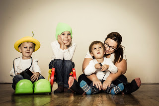 Familienfoto 3fachjungsmami