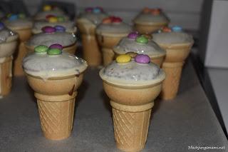 Eisbecher Muffins